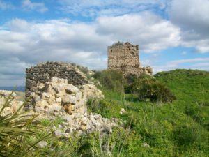 restos de castillo de cartama